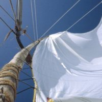 Beneath a Billowing Sail