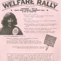 Welfare rally