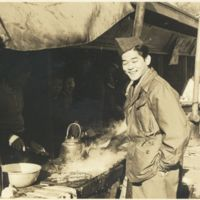 Kaizawa 3-013: Stanley Kaizawa in military uniform…