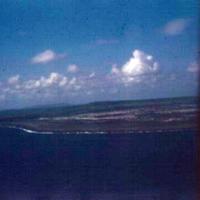 Saipan, from air. 26 Oct. 1949