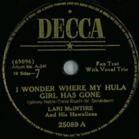 I Wonder Where My Hula Girl Has Gone
