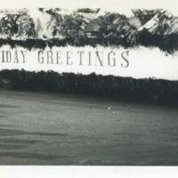"Kaizawa 3-003: Christmas float with a ""HOLIDAY…"