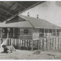 Native hospital. Lae Lae N.G. '43