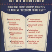 Freedom budget for all Americans: budgeting our…