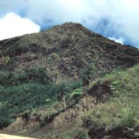 View driving down from Lamlam. Guam. 13 Jan. 1950
