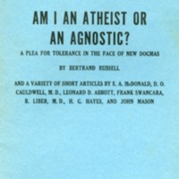 Am I an atheist or an agnostic? A plea for tolerance in…