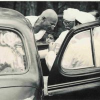 Gandhi Arrives in Simla