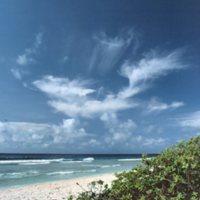 Beach on Satawal - 09