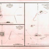 Plan de L'Ile Bigali, Plan de L'Ile Satahoual, Plan des…