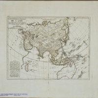 Carte générale et politique de l'Asie