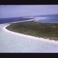 Bikini Island, south half, from ocean side, view to…