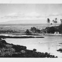 View of Mauna Kea from Hilo Bay