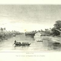 Vue de la baie de Huaheine (Iles de la Societe.)