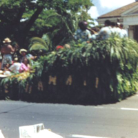 [Parade float]