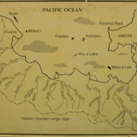 Shoreline map of Kaneohe, He'eia, Kualoa with KMCAS…