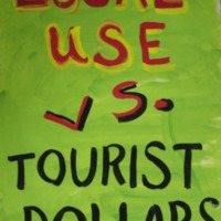 Local use vs. Tourist Dollars