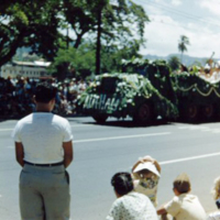 Parade. Hawaii. 9 June 1951
