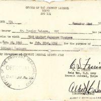 "Kaizawa doc 12: Document: visitation permission to ""off…"