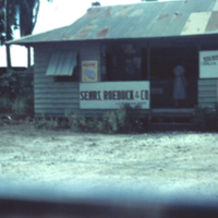 Sears & Roebuck. Marine Drive. Guam. 23 Oct. 1949