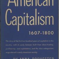 American Capitalism 1607-1800