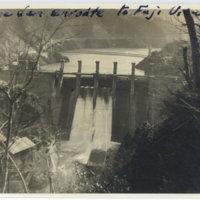 A dam seen enroute to Fuji viewing, Yamanashi Japan