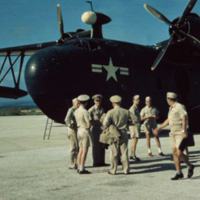Arrival Saipan. 9 Mar. 1950