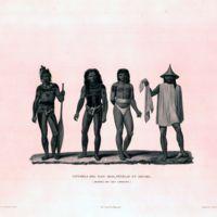 Naturels des Iles Iros, Penelap, et Aouara (Archipel…