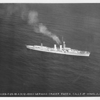 308 German Cruiser Emden calls at Honolulu