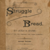 Struggle for bread: an impartial discussion of some of…