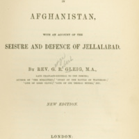 Sale's Brigade in Afghanistan, With an Account of the…