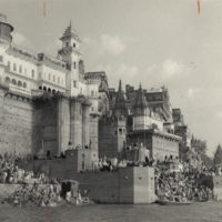 Pilgrims at Banaras (Varanasi)