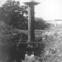 Artesian well which supplies the water used by the…