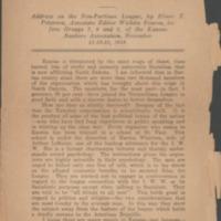 American Bolshevism: address on the Non-Partisan…