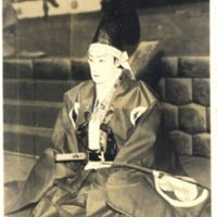 Kaizawa 1-010: Kabuki actor as Ko no Moronao 高師直 in the…