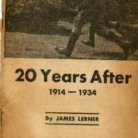 20 years after: 1914-1934