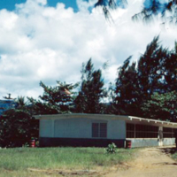Admin. Bldg. Ponape. June 1950.