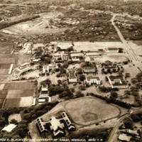 Aerial View, University of Hawai`i (1939)