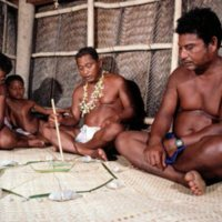Pa'afu Lesson. Seated from right to left are Tobias…