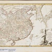 Empire de la Chine d'après l'Atlas Chinois, avec les…