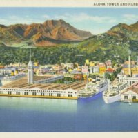 [057] Aloha Tower and Harbor, Honolulu