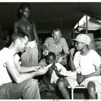 "Marines Bargaining with Natives [See ""more images""…"