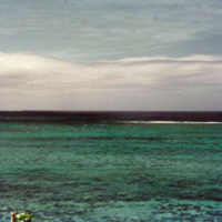 Break in the reef from C. Ser Club. South Asan, Guam.…