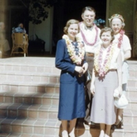 Mr. & Mrs. C.Y. Thomas & family, Royal Hawaiian.…