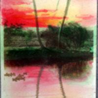 Landscape Painting - 2 Palms