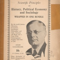 Scientific principles of history, political economy,…