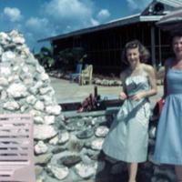 Janet West & Marjorie Winters. Builder's Club. Guam. 13…