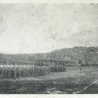 Guard mount 27th Division Arty, Aizuwakamatsu,…