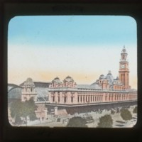 Luz station in Sao Paulo: [サンパウロ市ルーズ停車場]