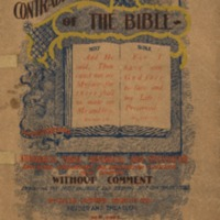 Self contradictions of the Bible: 144 propositions,…
