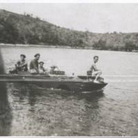 Amphibian Jeep & Americans. N.G. '43